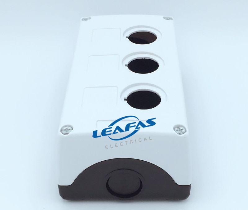 白色按钮盒 LXW-3
