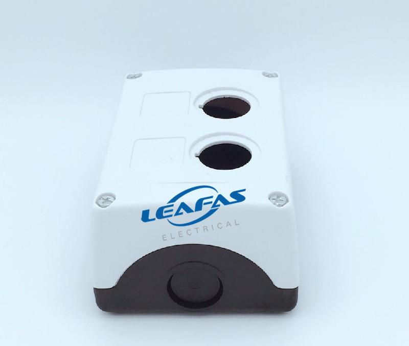白色按钮盒 LXW-2